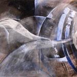 1999 Ohne Titel Acryl auf Leinwand 80x100 cm