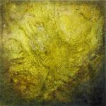 2019 Ohne Titel Acryl-Struktur-Paste-Sand-Granulat auf Leinwand 100x100 cm.