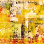 2013 Ohne Titel Acryl auf Leinwand 90x120 cm