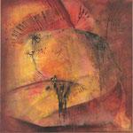 2005 Ohne Titel Acryl auf Leinwand 80x80 cm