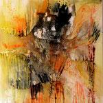 2014 Ohne Titel Acryl-Strukturpaste auf Leinwand 80x80 cm