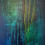 2000 Dunkle Hoffnung Acryl auf Leinwand 140x120 cm