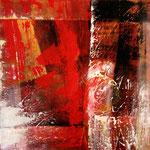 2011 Ohne Titel Acryl auf Leinwand 90x90 cm