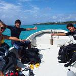 沖縄から近い離島 ヨロン島 のんびりダイビング