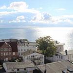Blick aus dem Ostbalkon auf die Ostsee
