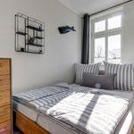 2. Schlafzimmer mit Doppelbett - 1,60m breit