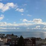 Blick auf die Ostsee vom Ostbalkon