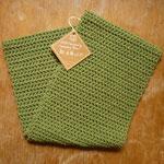 Loopschal LOUI.SA - 100% Merino (moulesinfrei), grün