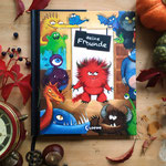 Monsterbuch mit Wendecover, Cover 2