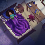 """Illustration aus """"Azul - Ein Drachen-Abenteuer"""" (siehe Kinderbücher), im Buchhandel erhältlich"""