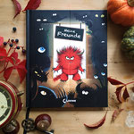 Monsterbuch mit Wendecover, Cover 1