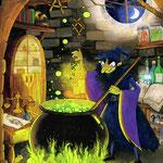 """Illustration aus dem Bilderbuch """"Das Licht des Einhorns"""", erschienen beim Jumbo Verlag (siehe Kinderbücher), Im Buchhandel erhältlich"""