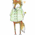 Characterdesign Fuchs