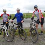 Jungesellenabschied - Mit dem Mountainbike auf der Wasserkuppe