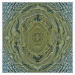 Mandala - Sand von Wasser überspült 2010