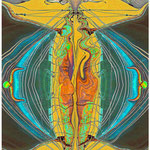 Windsbraut - Photomalerei 2010 auf Photopapier gedruckt