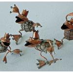 Tanzende Froschkönige