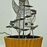 Förderturm der Gelassenheit Wasser-/Windspiel