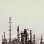 """Oil Refinery, 9.5"""" x 9.5"""", 2013"""