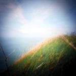 Étretat, 2017-14, Zone plate argentique, 40 cm x 40 cm, tirage impression Hahnemühle - William Turner - 1/5 - © Annick Maroussy