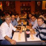 Cena con i colleghi.
