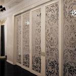 раздвижные двери белые