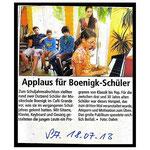 Musikschule - Schülervorspiel 59494 Soest.