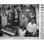 Musikschule - Schülervorspiel im Clarenbachhaus Soest.