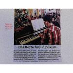 Musikschule - Schülervorspiel im Kaffee Grande Soest.