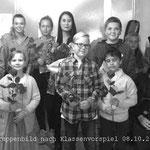 Musikschüler nach Klassenvorspiel - Klavier