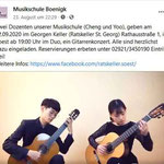 Musikschule Boenigk - Musiklehrer Konzert im Georgen Keller in 59494 Soest.