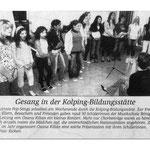 Musikschule - Schülervorspiel in der Kolping - Bildungsstätte Soest.
