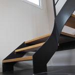 Escalier métal a Léhon