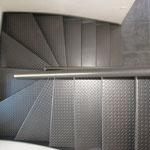 Escalier métal a Lancieux