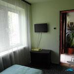 Pokój dwuosobowy w pensjonacie Villa Banita w Ustce.