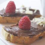 Nutellaschnitte, ein  Leckerschmecker Genuß!