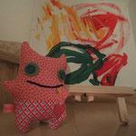 Kleine Monsterchen vor einem grandiosen Gemälde
