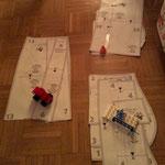 Sortieren, was will ich nutzen, was nicht mit Lego :-)
