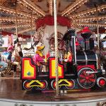 Urlaub in Nizza, Ausflug nach Monaco, Karussell fahren