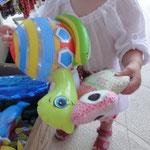 Sommerurlaub auf Mallorca in Cala Millor, Frau Käferin und Familie