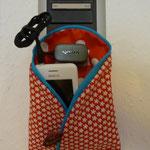 Handyladetasche selber nähen kostenlos mit Schnittmuster und Nähanleitung