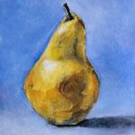 """Pear (2011). Oil, 8"""" x 10"""". Nicole Harper ©"""