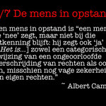 Wouter Mensink-5.  De mens in opstand/Albert Camus
