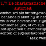 Wouter Mensink - 1. De charismatische autoriteit/Max Weber