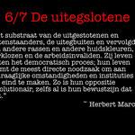 Wouter Mensink-6. De uitgeslotene/Herbert Marcuse