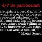Wouter Mensink-4. De parrhesiast/Michel Foucault