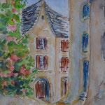Sarlat médiéval (vendu-pas de reproduction) réf SAR004