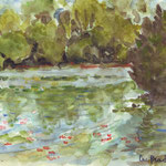 Lac de la Prade (non disponible) - Vente Reproduction Réf PAY001