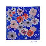 Tissu fleurs TFL2 ( vendue)