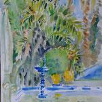 Jardin Majorelle Maroc JMM010 -en reproduction 30x40cm ou 40x